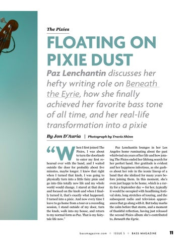 Page 11 of Paz Lenchantin: Floating On Pixie Dust