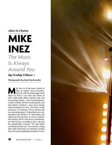 Page 18 of Mike Inez: The Music Is Always Around You