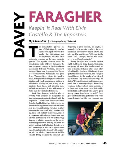 Page 45 of Davey Faragher: Keeping It Real With Elvis Costello