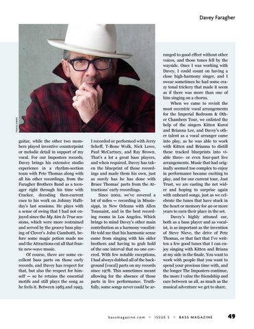 Page 49 of Elvis Costello: In Praise of Davey Faragher