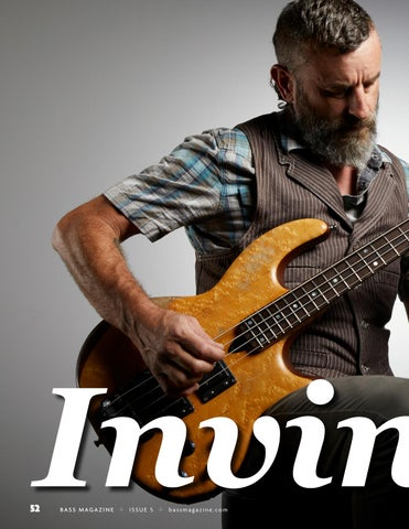 Page 52 of Justin Chancellor of Tool: Invincible
