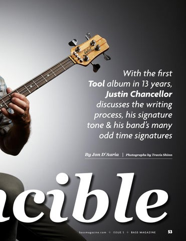 Page 53 of Justin Chancellor of Tool: Invincible