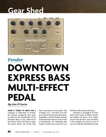 Page 92 of Review: Fender Downtown Express Pedal