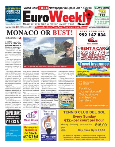 Euro Weekly News Costa Del Sol 7 13 November 2019 Issue