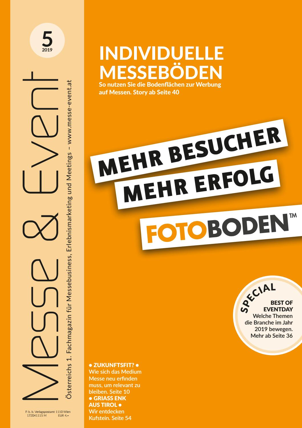Messe & Event Magazin, Ausgabe 52019 by CRM Medientrend