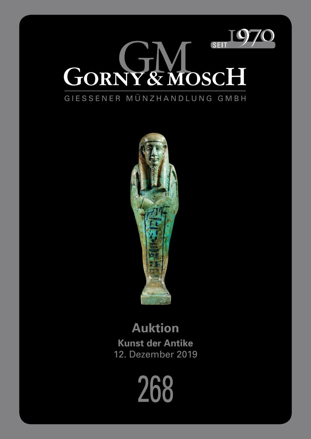 Gorny & Mosch Auktionskatalog 268