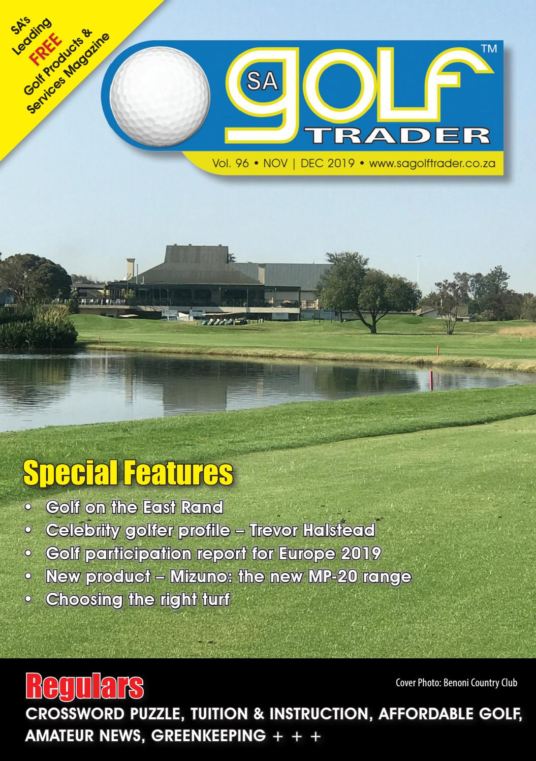 Sa Golf Trader November December 2019 By Sa Golf Trader Issuu