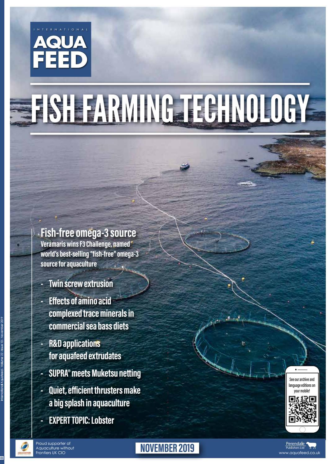 Nov 2019 International Aquafeed Magazine By Perendale Publishers Ltd Issuu