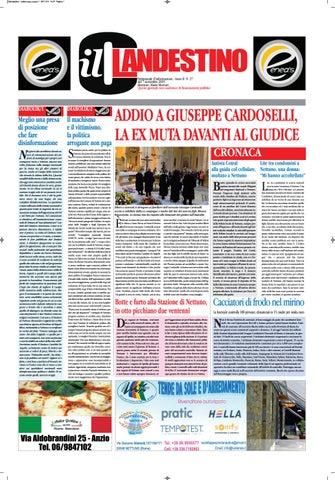 Il Clandestino Giornale Anno 2 N.28 by Il Clandestino
