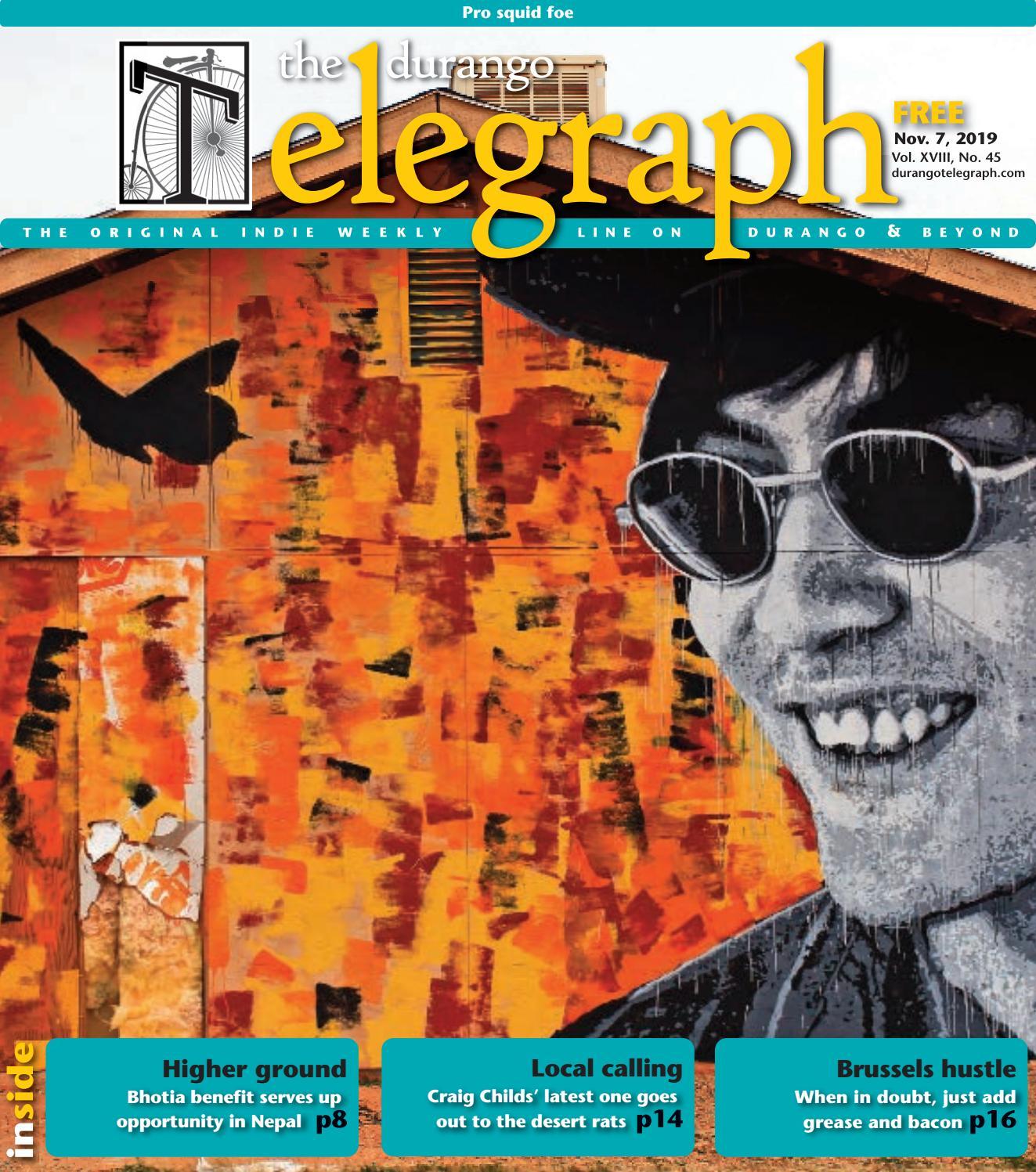 Ass Traffic Teen durango telegraph - november 7, 2019durango telegraph
