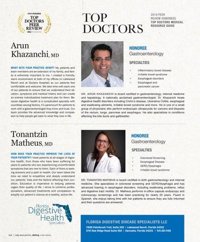 Page 10 of Top Doctors Profile: Tonantzin Matheus MD