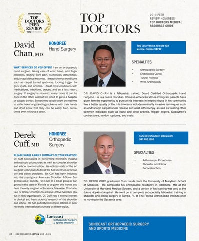 Page 12 of Top Doctors Profile: Derek Cuff MD