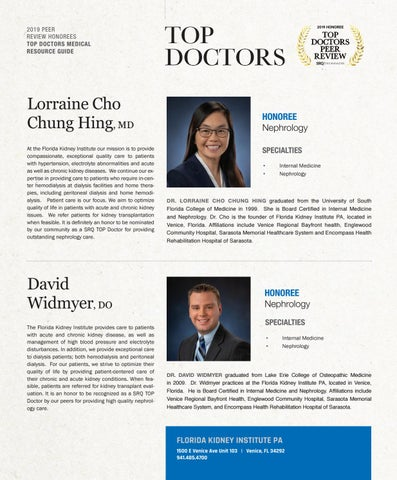 Page 15 of Top Doctors Profile: David Widmyer DO