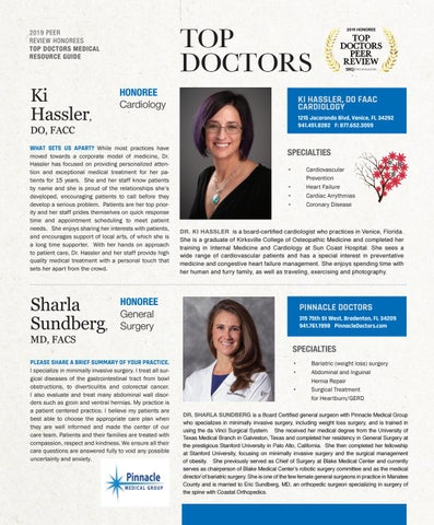 Page 17 of Top Doctors Profile: Ki Hassler DO, FACC