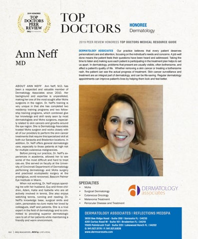 Page 6 of Top Doctors Profile: Ann Neff MD