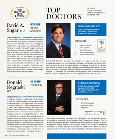 Page 8 of Top Doctors Profile: Donald Negroski MD