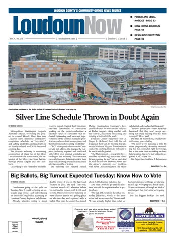 Loudoun Now for Oct. 31, 2019 by Loudoun Now issuu