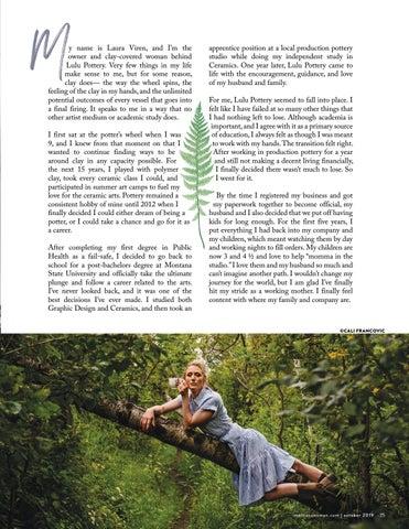 Page 25 of Maker's Spotlight: Laura Viren | Lulu Pottery