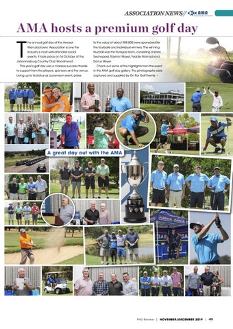 Page 49 of AMA hosts a premium golf day
