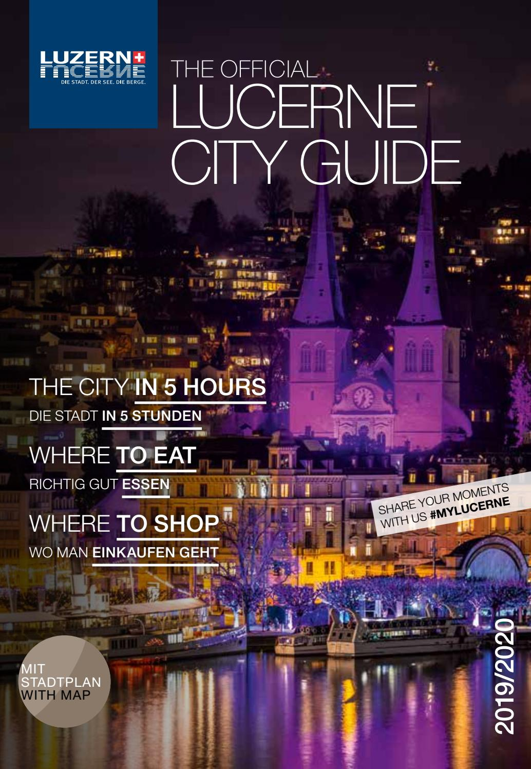 Official Lucerne City Guide Winter 2019 20 By Ba Media Gmbh