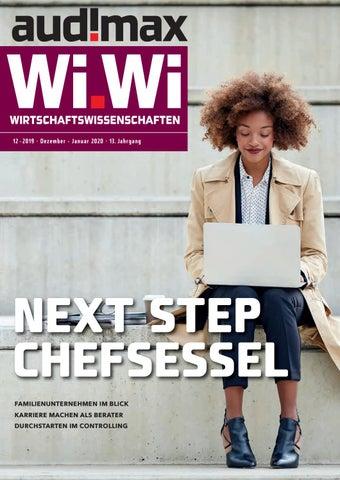 audimax Wi.Wi 12 2019 Das Karrieremagazin für