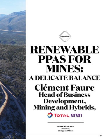 Page 27 of Renewable PPAs for Mines -  A Delicate Balance