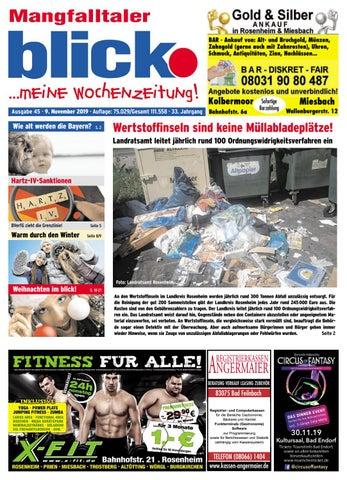 Mangfalltaler blick Ausgabe 45 | 2019 by Blickpunkt Verlag