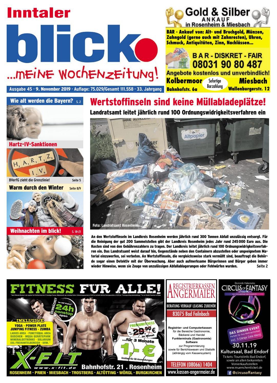 Inntaler Blick Ausgabe 45 2019 By Blickpunkt Verlag Issuu