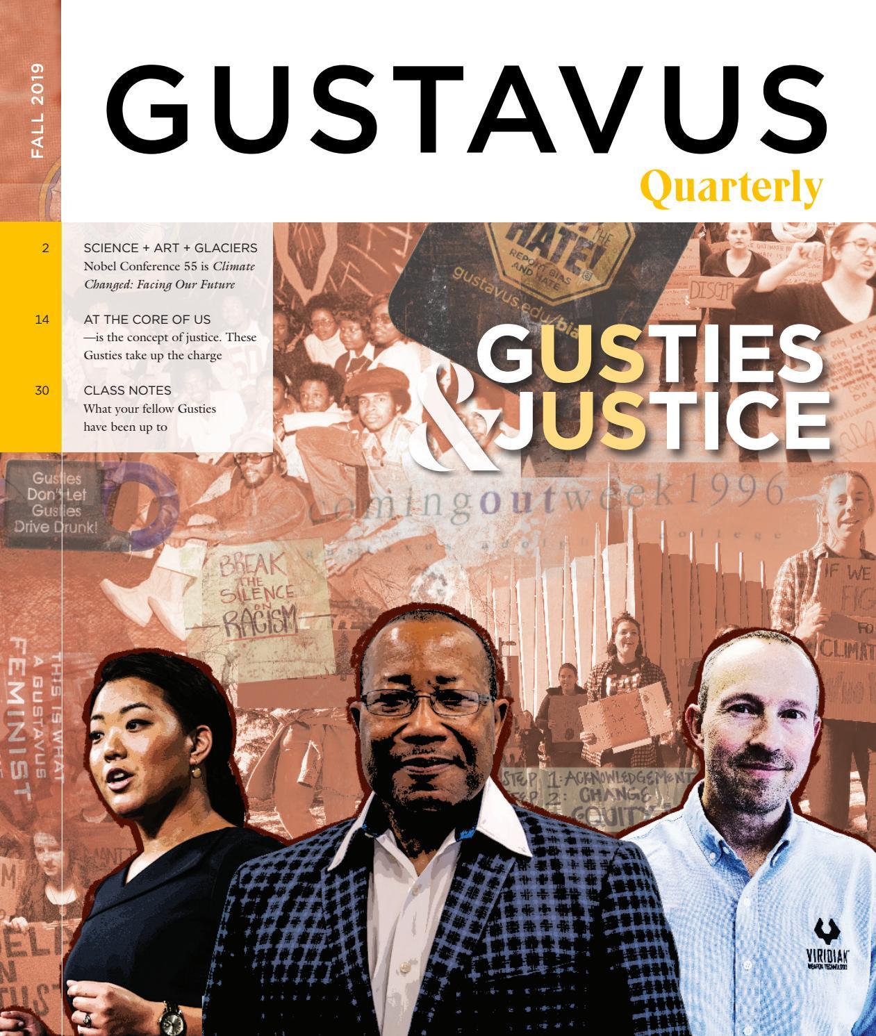 Fall 2019 Quarterly By Gustavus Adolphus College Issuu
