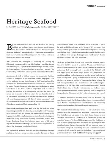 Page 19 of Heritage Seafood
