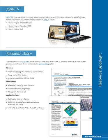 Page 9 of Resource Spotlight