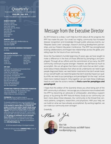Page 3 of Message from the Executive Director
