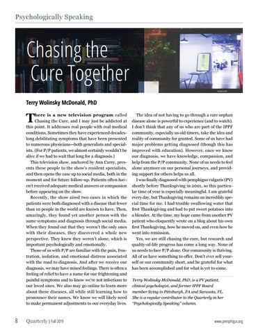 Page 8 of Chasing the Cure Together