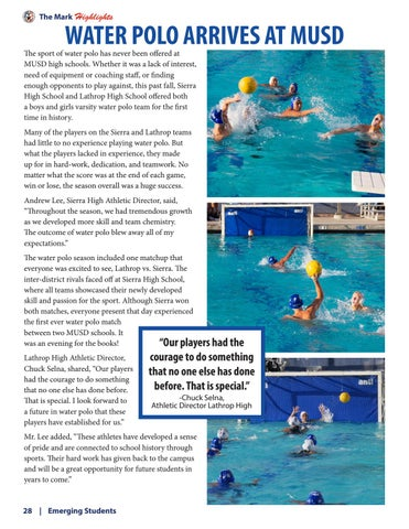 Page 28 of Water Polo Arrives at MUSD