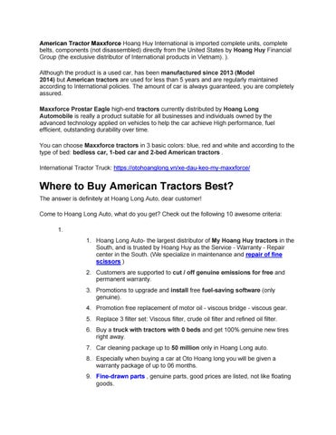 Page 1 of  American International Tractor Trailer