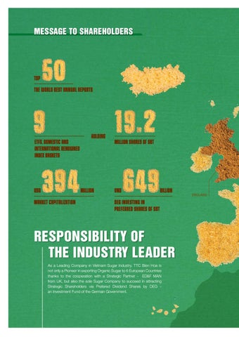 Page 4 of Responsibility of the industry leader