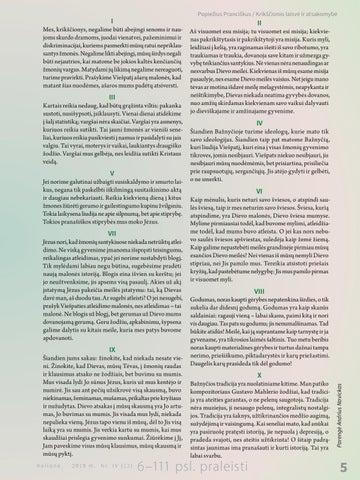 Page 7 of Krikščionio laisvė ir atsakomybė