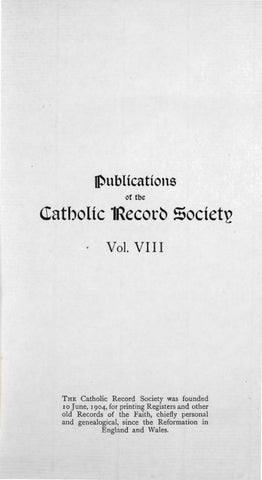 Records Volume 8 The Diary Of The Blue Nuns By The Catholic