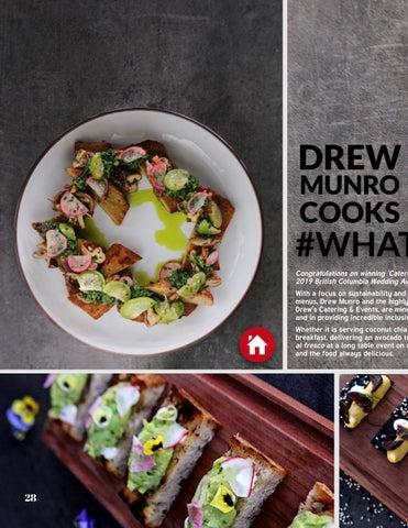 Page 28 of Drew Munro Cooks #WhatVegansEat in YVR