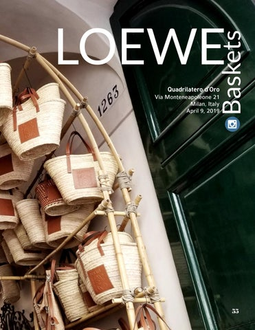 Page 55 of Loewe 'Baskets' Exhibition at Salon del Mobile.Milan Captivates