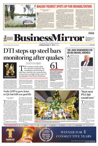 Businessmirror November 11 2019 By Businessmirror Issuu