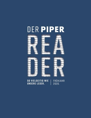 Piper Reader By Piper Issuu