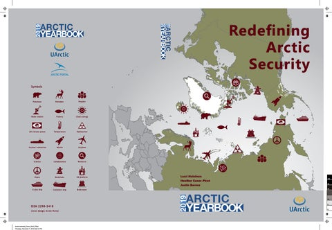 Arctic Yearbook 2019 - Redefining Arctic Security by Arctic