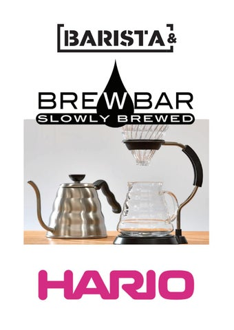 Brown White Pink and Green 1-2 Cups Hario V60 01 Glass Coffee Dripper Black