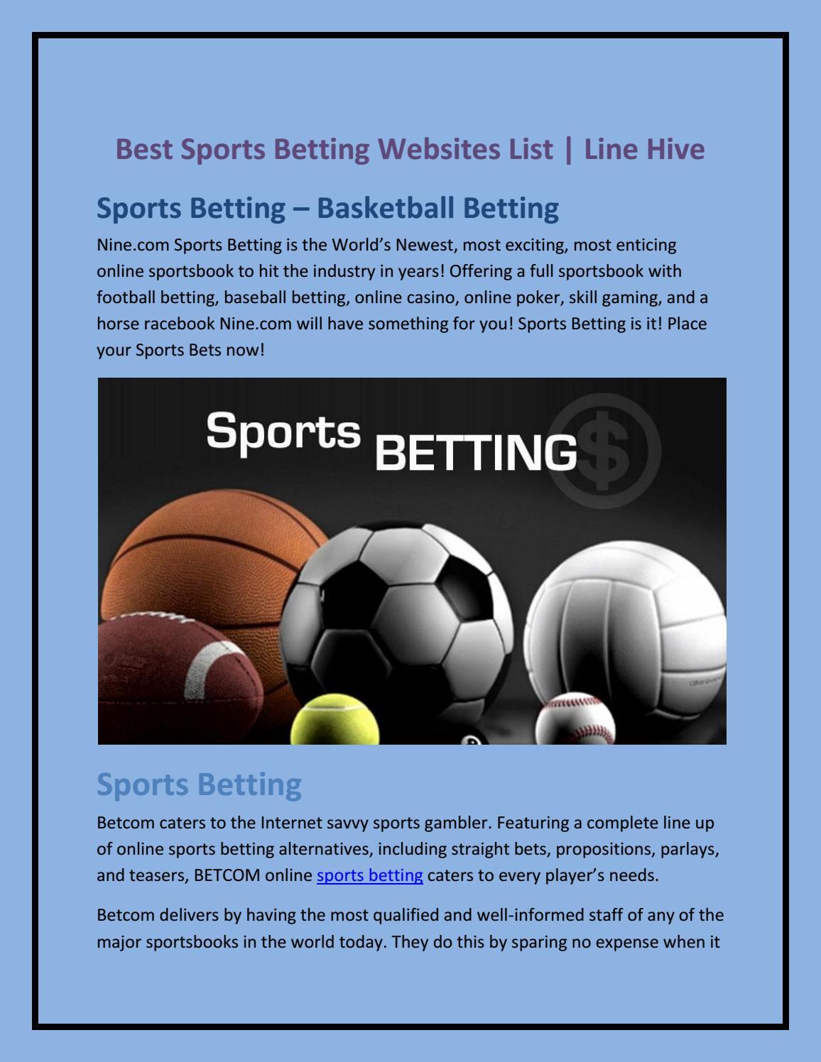 nine line sports betting