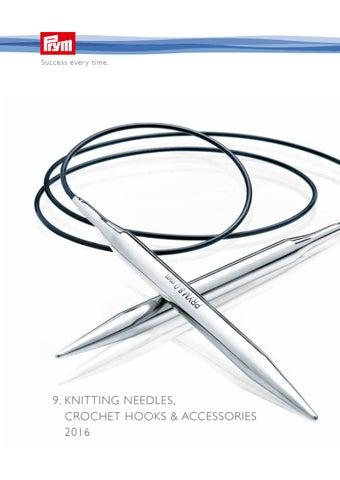 17cm Assorted Sizes Prym CHILD Knitting Needles Plastic