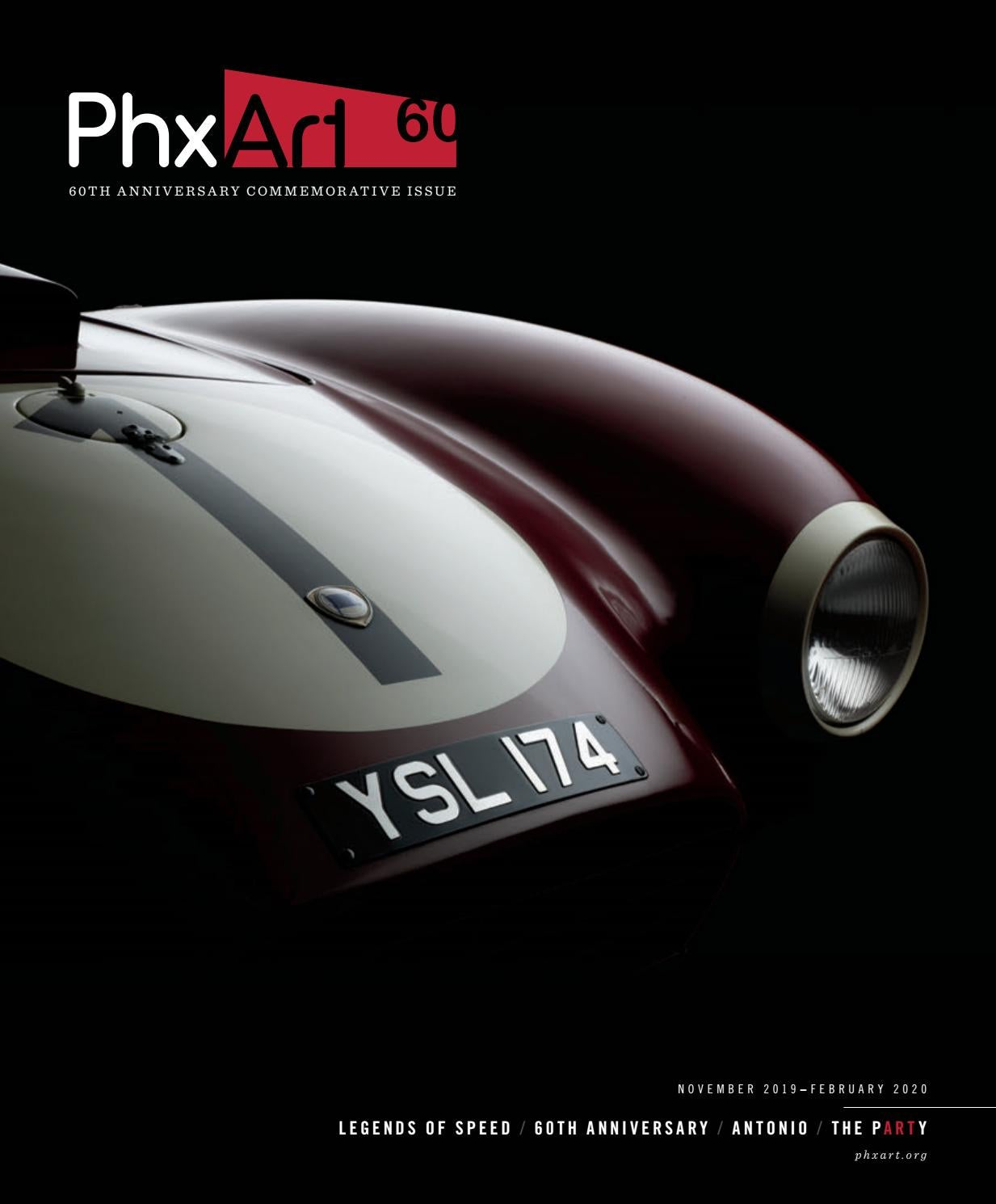 Phoenix Art Museum Magazine 60th Anniversary Commemorative