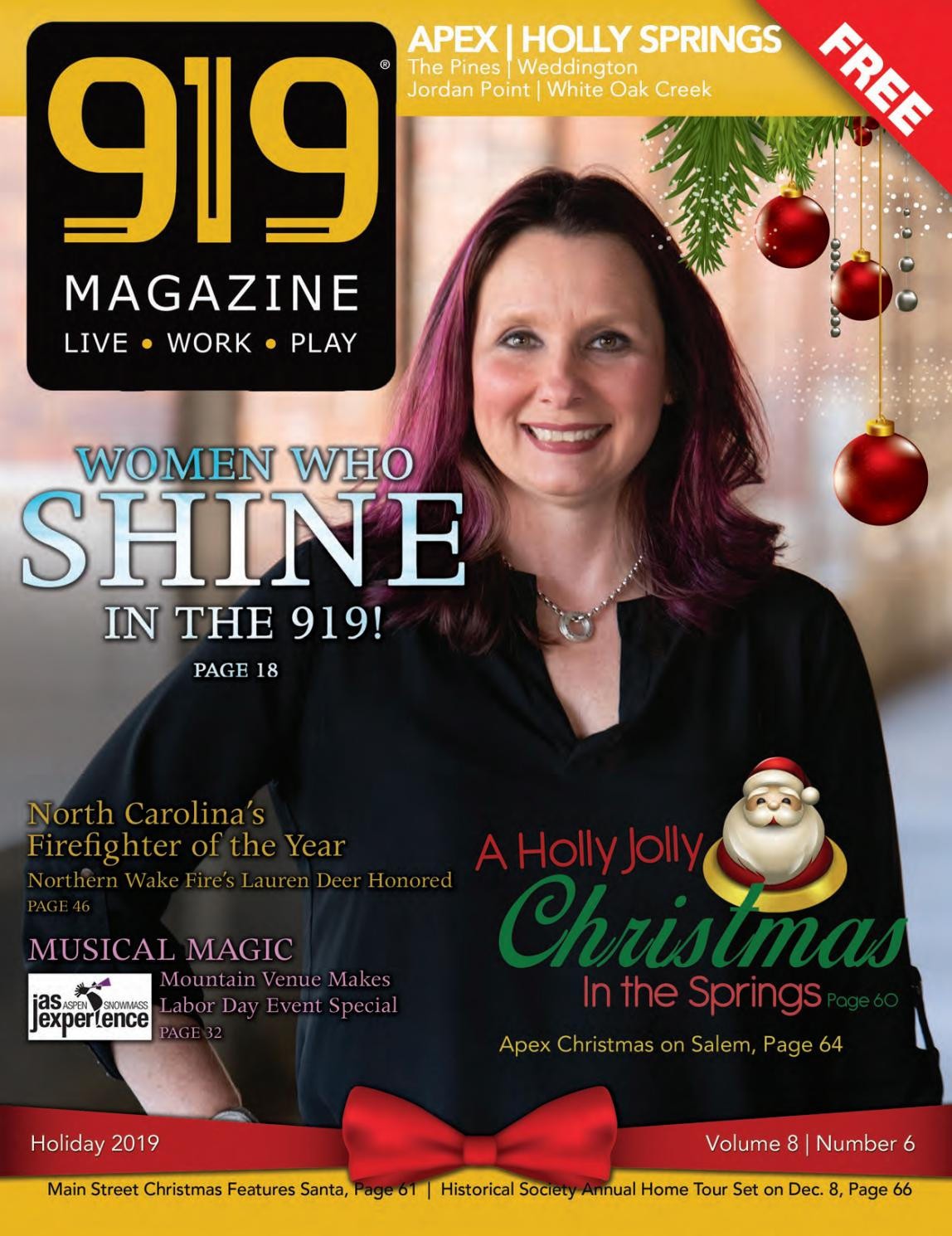 Hope For Christmas December 8, 2020 Holly Springs Baptist Volunteers, December 8 919 Magazine Holiday 2019  Holly Springs, Apex by 919 Magazine   issuu