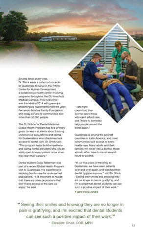 Page 15 of Global Clinic Improves Lives of Guatemalans