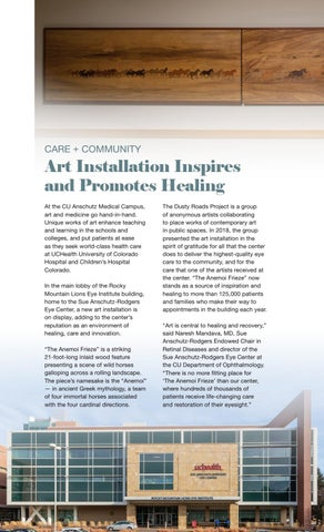 Page 22 of Art Installation Inspires and Promotes Healing